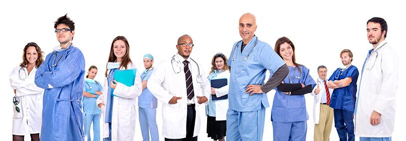 groupe de medecins